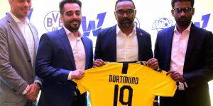 Borussia Dortmund assina com consultoria por mercado indiano