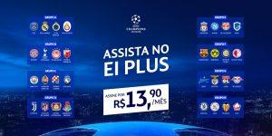 Com Champions League, EI Plus cresce em audiência e número de assinantes