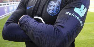 Deliveroo fecha histórico acordo com a seleção inglesa