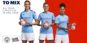 Manchester City polemiza ao fechar com sabão em pó para equipe feminina