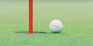 Nissan lança bola de golfe que transforma pilotos em profissionais