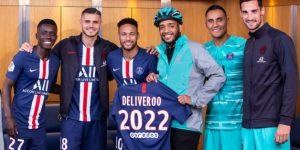 Após LaLiga e seleção inglesa, Deliveroo fecha acordo com PSG