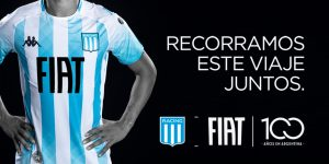 FIAT é a nova patrocinadora máster do Racing Club