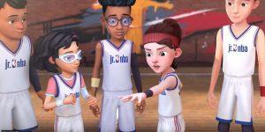 NBA foca no público infantil e apresenta série 'NBA Jr. Jump Squad'