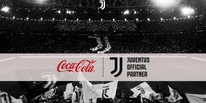 Juventus anuncia parceria de dois anos com a Coca-Cola