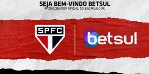 São Paulo anuncia patrocínio com site de apostas esportivas
