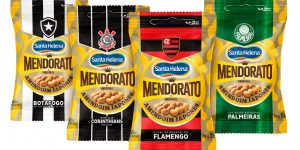Santa Helena firma parceria para amendoins de quatro grandes brasileiros