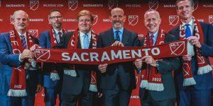 Sacramento oficializa entrada na Major League Soccer em 2022