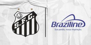 Santos anuncia Braziline como nova parceria de licenciamento
