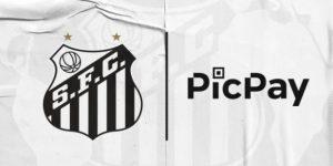 Santos terá PicPay como patrocínio pontual no Brasileirão