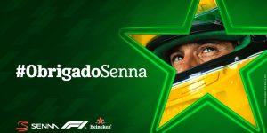 Com Senna, Heineken une forças com F1 para tributo em solo brasileiro