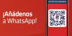 Atlético de Madrid explora WhatsApp para se aproximar dos fãs