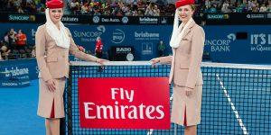Emirates renova acordo e seguirá como principal parceira da ATP
