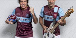 Iron Maiden apresenta uniforme em parceria com West Ham