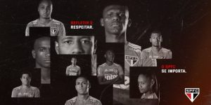 Clubes utilizam Dia da Consciência Negra para combater racismo no futebol