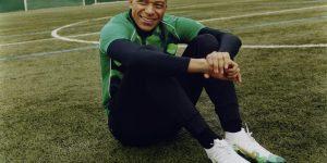 Mbappé ganha coleção exclusiva da Nike inspirada em suas origens