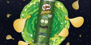 """Pringles usa """"Rick and Morty"""" para anunciar presença no Super Bowl"""
