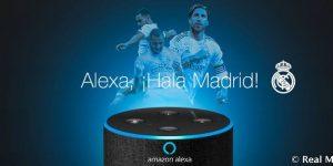 Real Madrid usa Alexa para lançar pacote de conteúdo