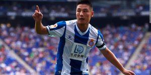 Com Wu Lei, Espanyol rivaliza com gigantes e ganha espaço na China