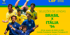 CBF retoma Seleção de Masters e reedita final da Copa de 1994