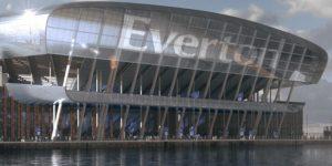 Everton recebe proposta e garante £ 30 milhões com naming rights de futuro estádio