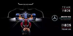 Ineos amplia relação com escuderia Mercedes e fecha patrocínio