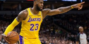 LeBron James e Los Angeles Lakers lideram vendas no Brasil e EUA