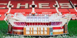Manchester United e Lego lançam Old Trafford feito de 3.898 peças