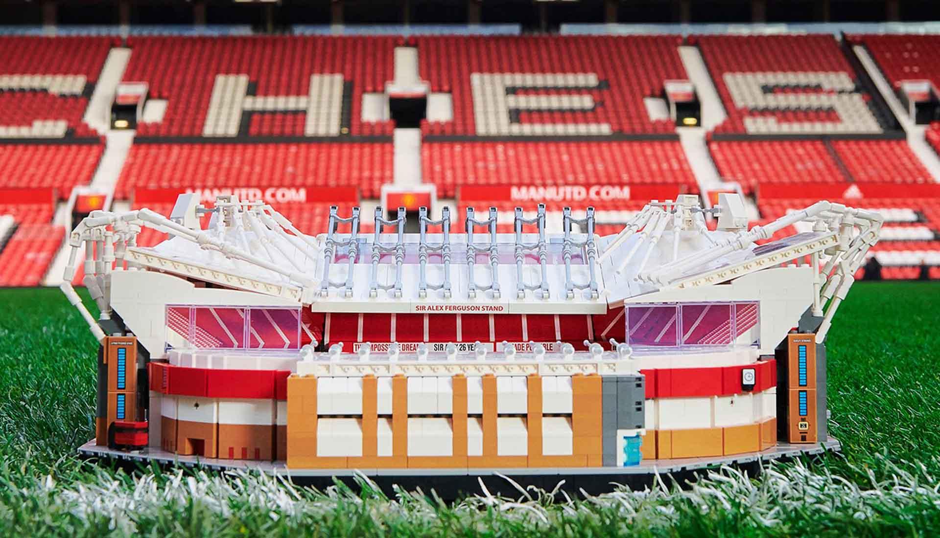 Manchester United e Lego lançam Old Trafford feito de 3 ...