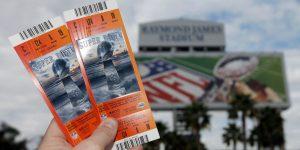 Capacidade do estádio e equipes sobem preço dos ingressos do Super Bowl
