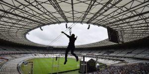 Mineirão consolida-se com eventos e terá tirolesa aberta ao público