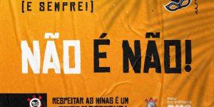 Por Carnaval consciente, Corinthians e BMG lançam campanha por respeito
