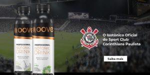 Corinthians fecha parceria com Moove Nutrition e terá isotônicos exclusivos
