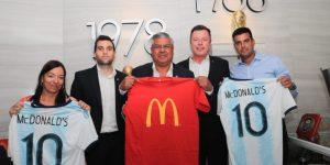 McDonald's foca no digital e fecha com seleções argentinas de futebol