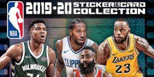 NBA e Panini apresentam álbum de figurinhas da temporada 2019/2020