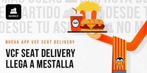 Valencia lança próprio aplicativo de entrega de comida no Mestalla