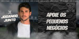 Igor Rabello, do Atlético-MG, usa quarentena para promover pequenas empresas