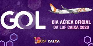 GOL é a companhia aérea oficial da LBF CAIXA 2020