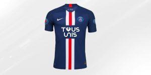 Com apoio de patrocinadores, PSG lança camisa beneficente