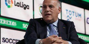 LaLiga não será contra sanções da UEFA ao Real Madrid e Barcelona