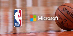 NBA foca em experiência do fã e fecha parceria com Microsoft