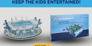 Em meio à paralisação, Manchester City ativa produtos licenciados para o lar