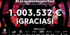 Festival virtual da LaLiga atrai 50 milhões de pessoas e apoio de 40 marcas