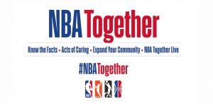 """NBA Cares lança plataforma de conteúdo """"NBA Together"""""""