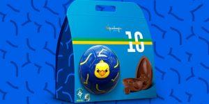 Em parceria com a Kopenhagen, CBF lança Ovo de Páscoa da Seleção Brasileira