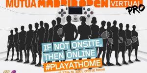 Tênis embarca em tendência e terá Masters 1000 de Madrid virtual