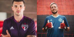 Adidas aproveita Dia do Goleiro e lança uniformes para clubes patrocinados