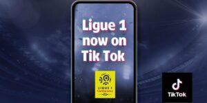 Ligue 1 alcança primeiro milhão no TikTok e mira fãs brasileiros