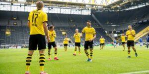 Sem público nos estádios, retorno da Bundesliga é marcado por audiência alta