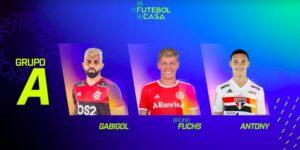Globo lança torneio virtual de futebol com jogadores de clubes